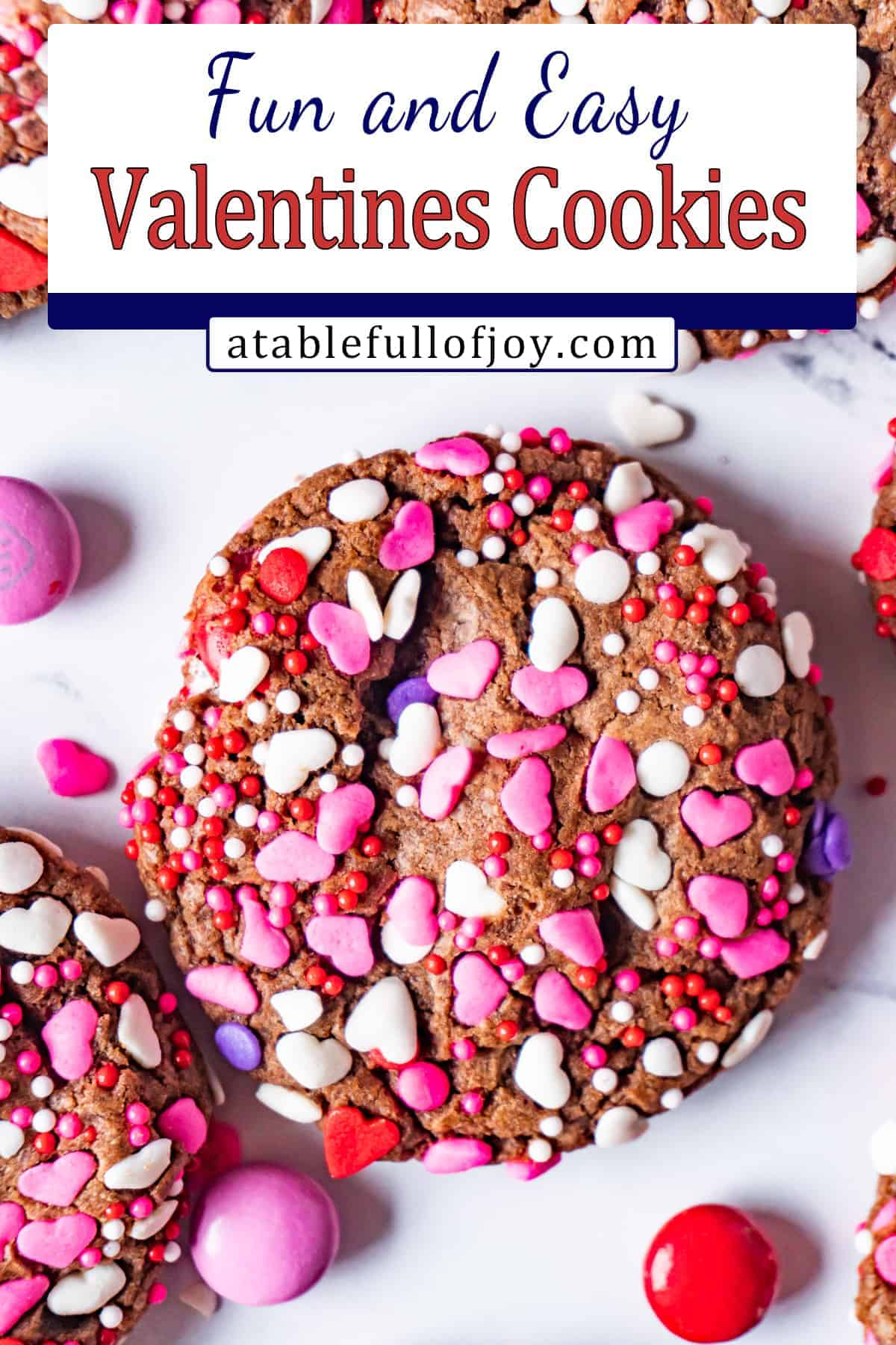 easy valentine cookies pinterest pin