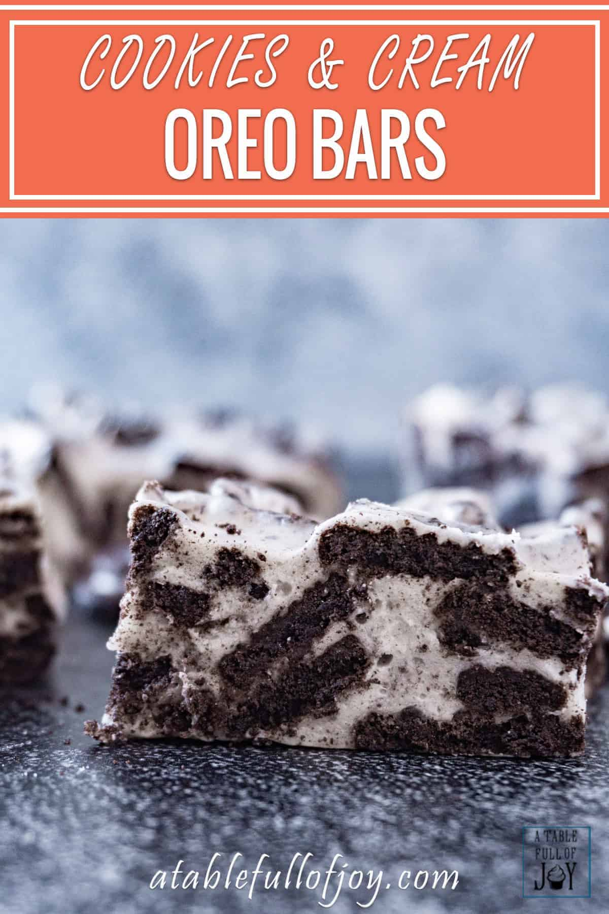 Oreo Bars Pinterest Pin