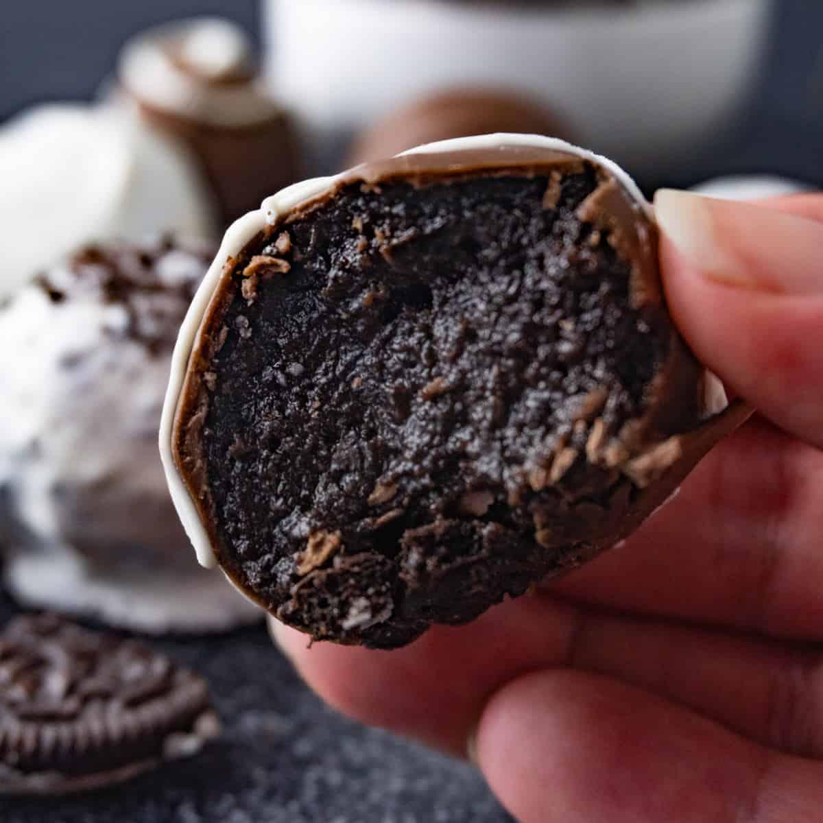 Oreo truffles featured image