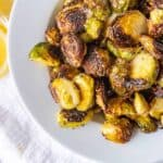 Oven Roasted Brussel Sprouts Featured image