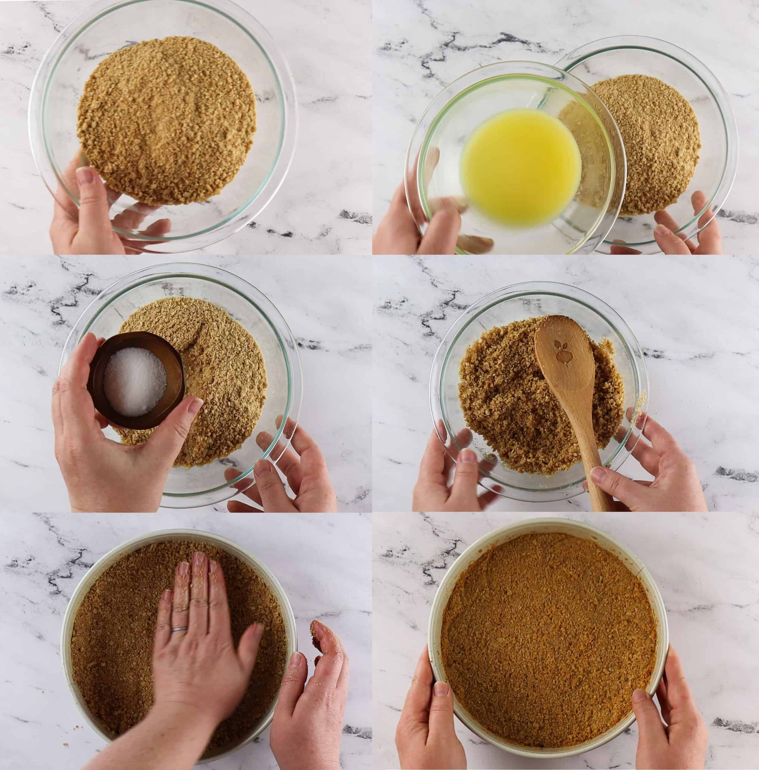 Crust Process Shots