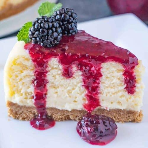 White Chocolate Cheesecake featured image