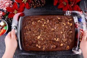 brownie baked