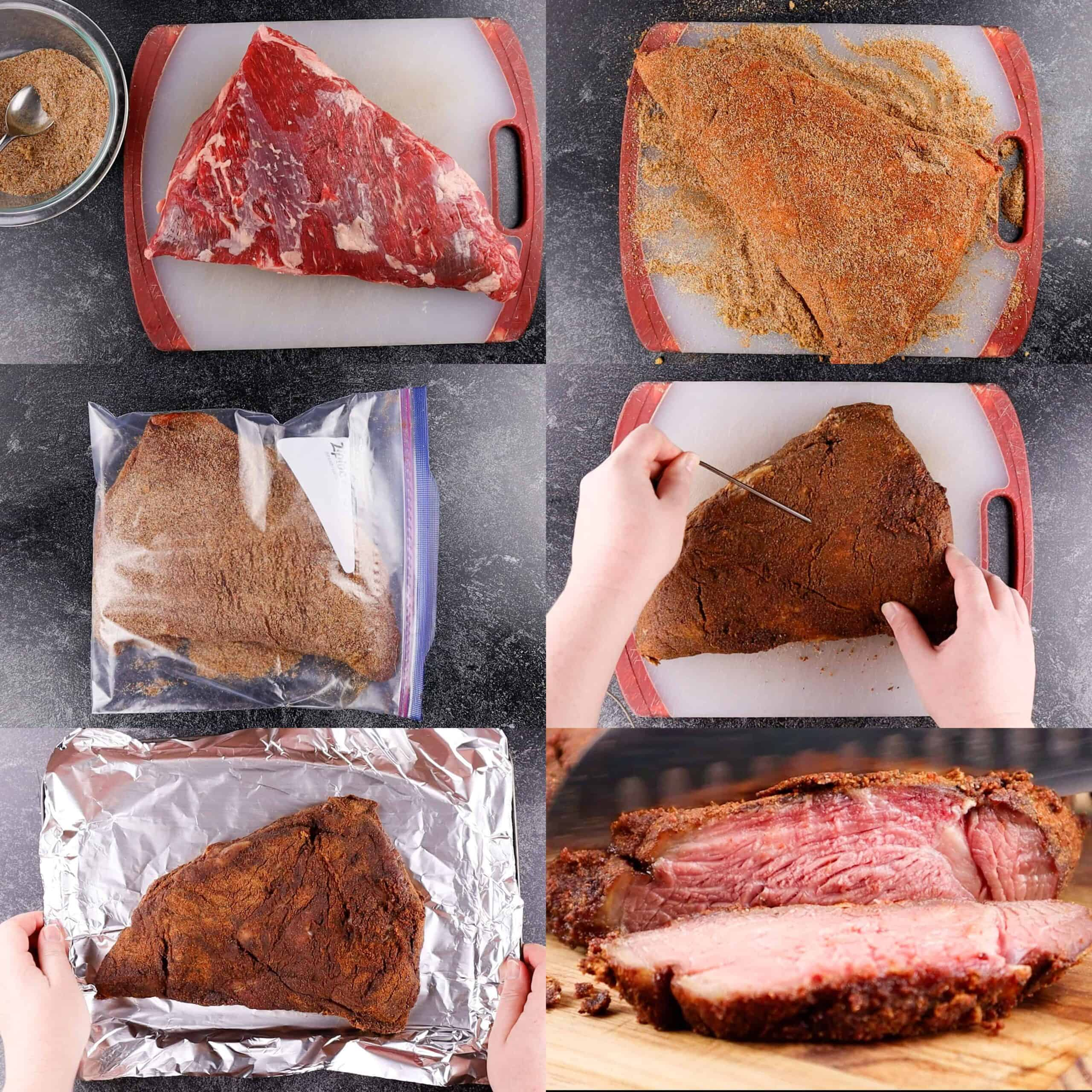 Process of making the tri tip
