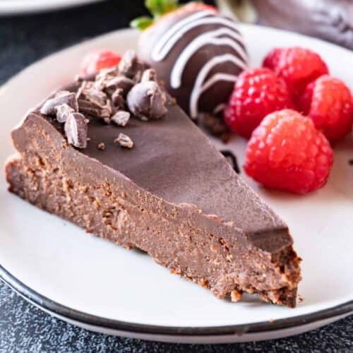 chocolate truffle cake featured image