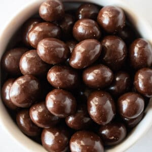 chocolate covered coffee beans featured image