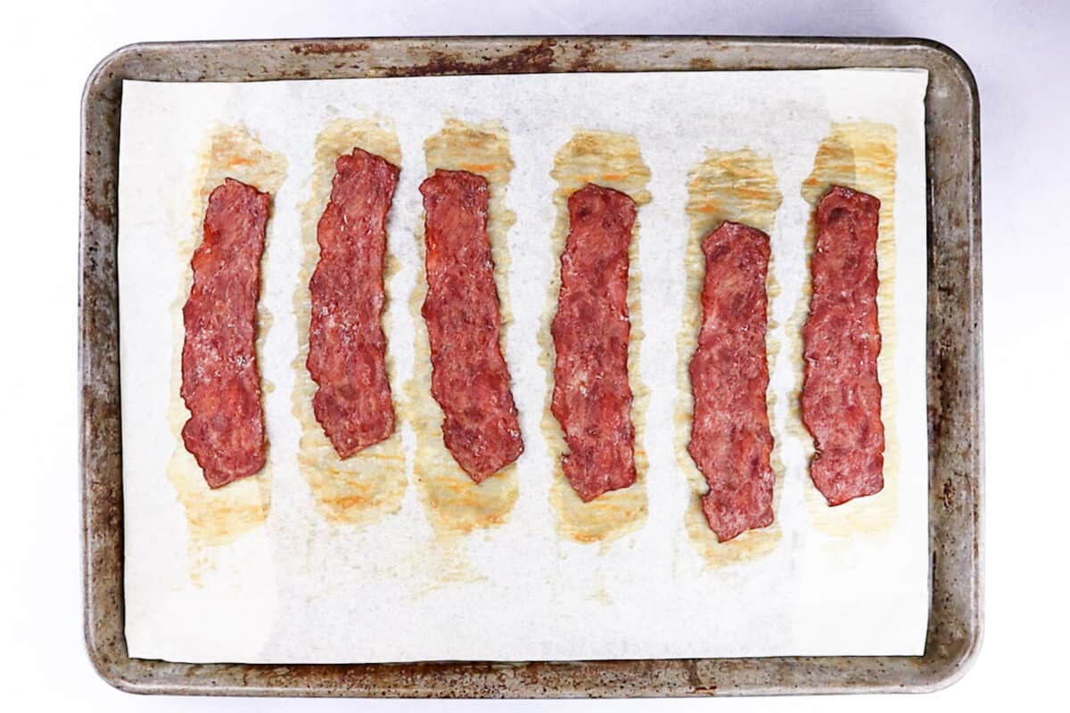 Signature Select Turkey bacon after bacon