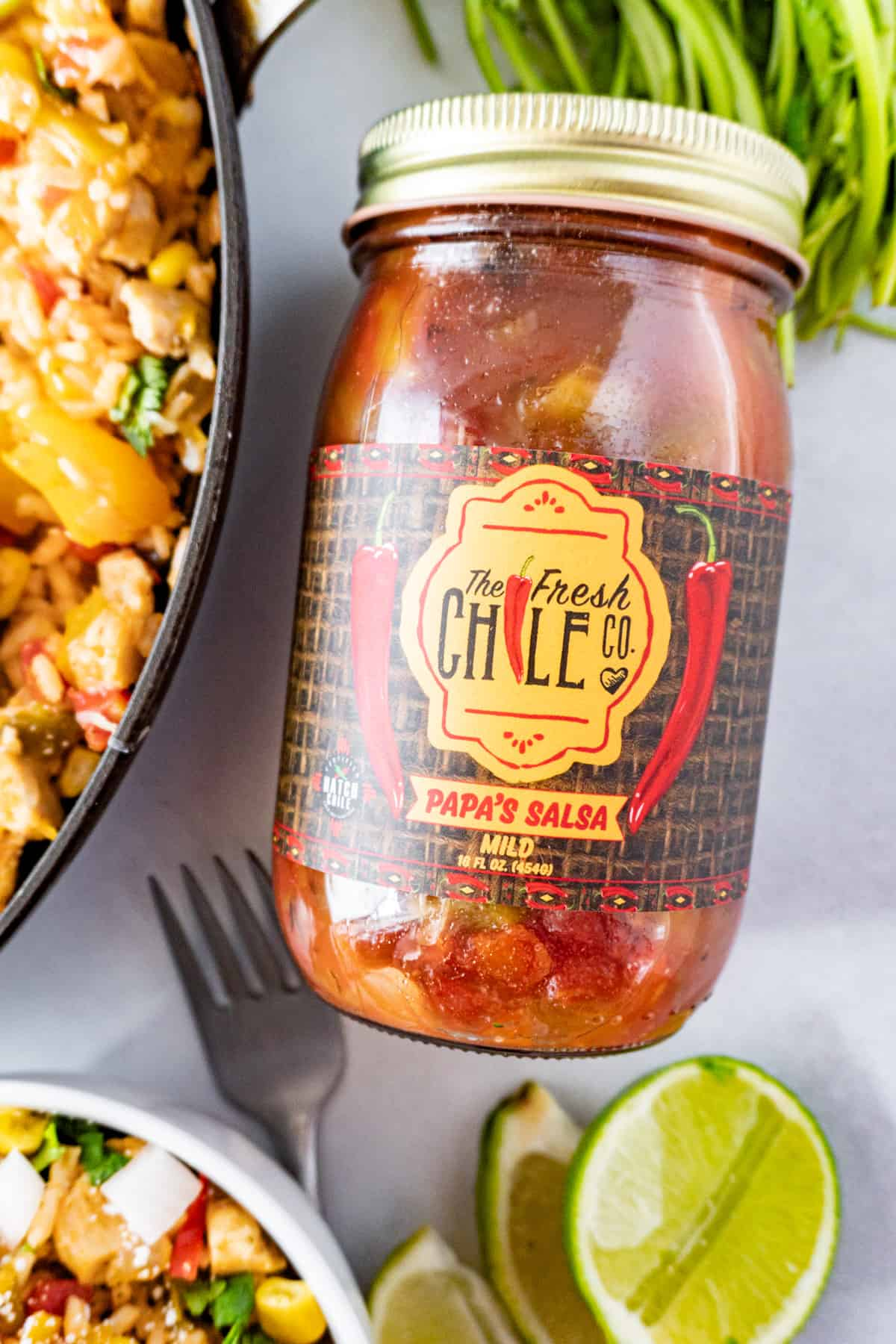 Papa's Salsa from Fresh Chile Co Jar